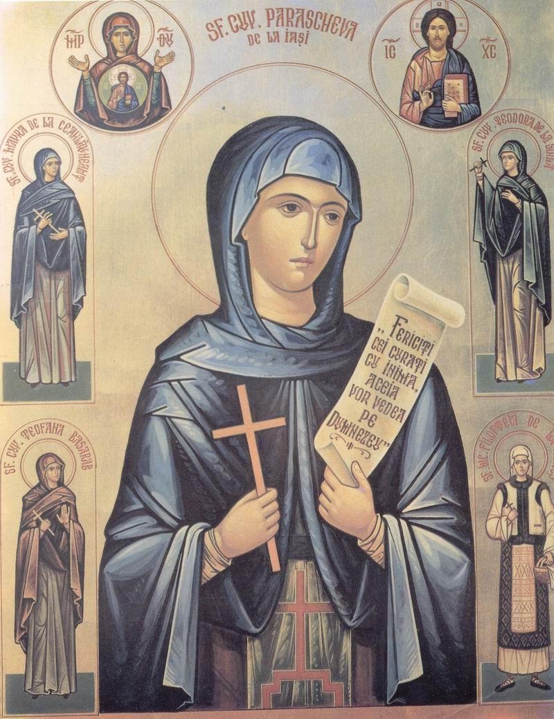 Sfanta Cuvioasa Parascheva in cultul popular