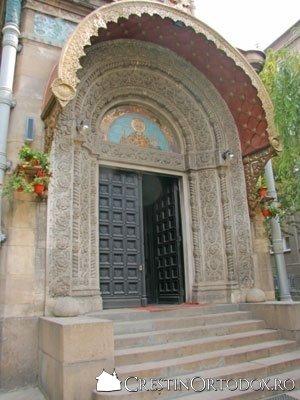 Biserica Rusa - Intrarea