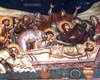 Moartea si ingroparea lui Hristos