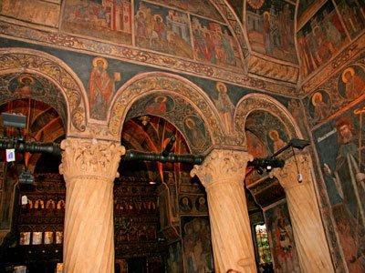 Biserica Stavropoleos - Interior