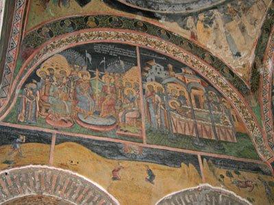 Biserica Kretulescu - Fresca