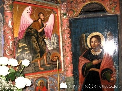 Manastirea Voronet - Sfantul Ioan Botezatorul