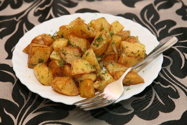 Cartofi taranesti cu ceapa