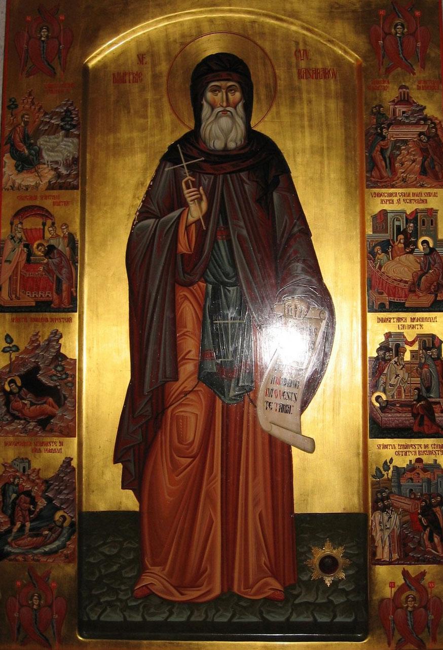 Acatistul Sfantului Dimitrie Basarabov