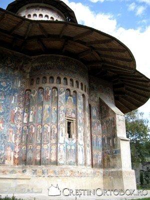 Manastirea Voronet - Albastrul de Voronet