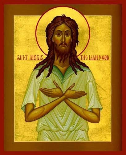 Pomenirea Cuviosului Alexie, omul lui Dumnezeu