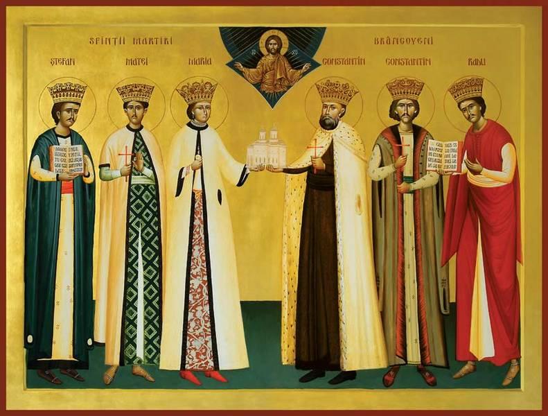Sfintii Brancoveni si sfetnicul Ianache