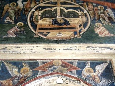 Manastirea Probota - Pridvorul