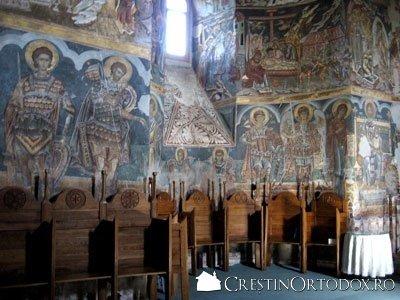 Manastirea Probota - Strana dreapta