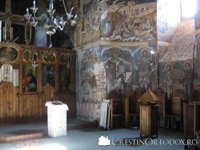 Manastirea Probota - Naos