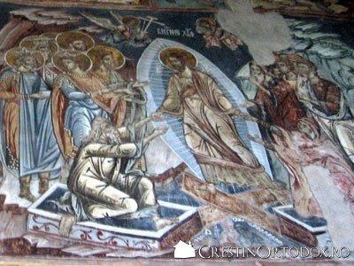 Manastirea Probota - Pogorarea la iad