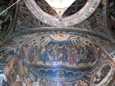 Manastirea Probota - Pogorarea Sfantului Duh