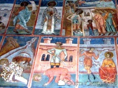 Manastirea Probota - Mucenici