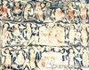 Manastirea Probota - Sfinti (peretele de miaza-zi)