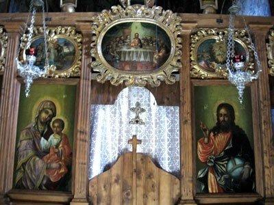Manastirea Probota - Icoane imparatesti