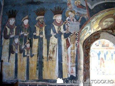 Manastirea Probota - Tabloul votiv