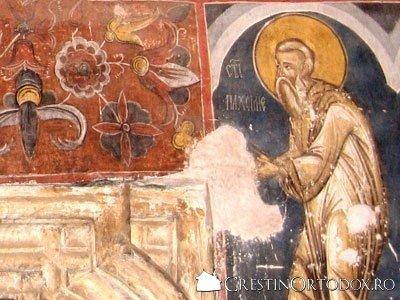 Manastirea Humor - Sfantul Pahomie