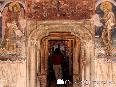 Manastirea Humor - Intrarea spre Gropnita