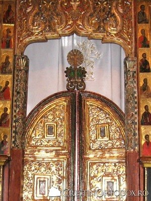 Manastirea Humor - Usile Imparatesti