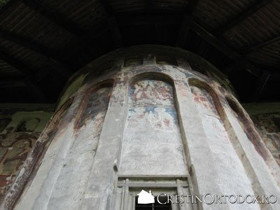 Manastirea Humor - Absida Stanga (cu multe arcade)