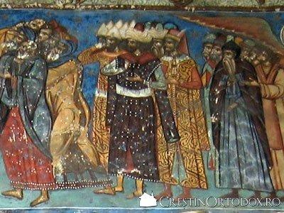 Manastirea Humor - Judecata de Apoi (detaliu)