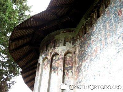 Manastirea Humor - Absida Stanga