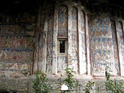 Manastirea Humor - Absida dreapta