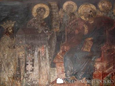 Manastirea Bogdana - Tabloul votiv