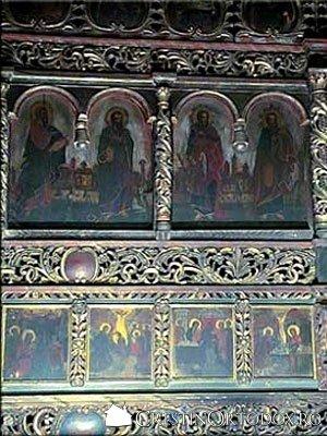 Manastirea Balinesti - Catapeteasma (detaliu)
