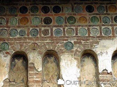 Manastirea Balinesti - Discuri de ceramica si firide