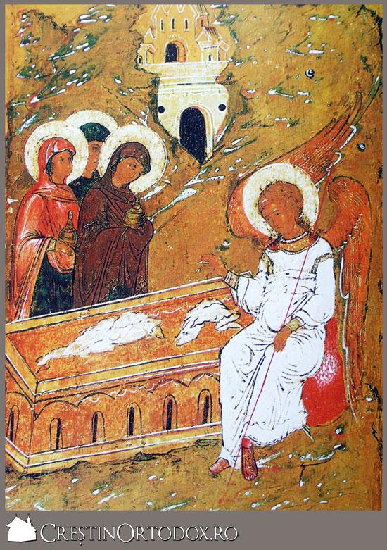 Ingerul vestind Invierea Domnului