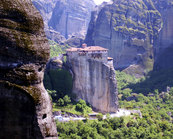 Meteora - Manastirea Rousanou - Puzzle