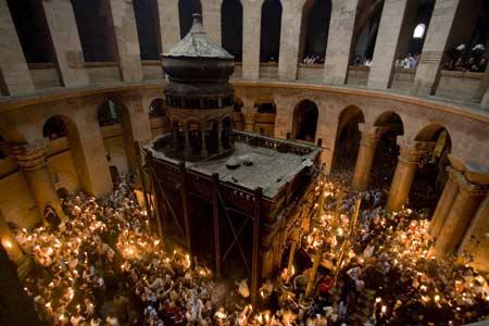 Sfanta Lumina de la Ierusalim