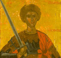 Sfantul Gheorghe in iconografie
