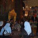 Credinciosi veniti la moastele Sfantului Grigorie Palama