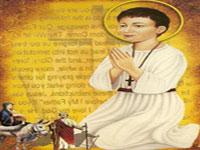 Sfantul Mucenic Abanoub - sfantul copil din Samanud