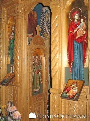 Paraclisul Manastirii Sfantul Gheorghe - Catapeteasma