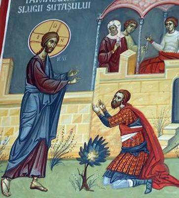 Vindecarea slugii sutasului - Sfantul Ioan Gura de Aur