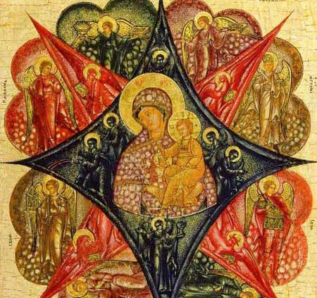Rugul Aprins - Icoana Maicii Domnului
