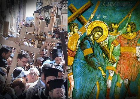 Luarea Crucii si urmarea lui Hristos