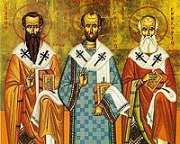 Icoana Sfintilor Trei Ierarhi
