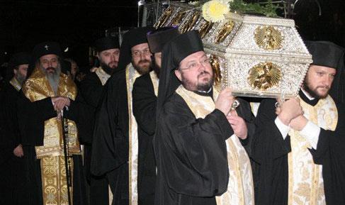 Sfanta Parascheva aduna sfinti din intreaga lume