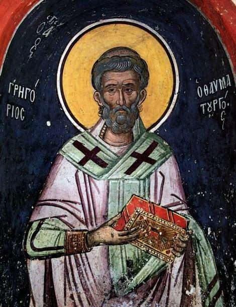 Sfantul Grigorie Taumaturgul, Sfantul Cuvios Lazar Zugravul si Zaharia