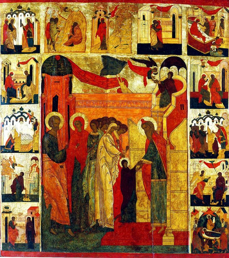 Icoana Intrarii in Biserica a Maicii Domnului