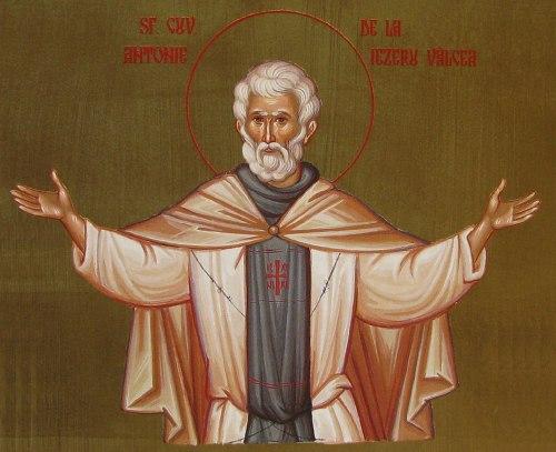 Sfantul Cuvios Antonie de la Iezeru Valcea
