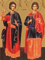 Sfintii Mucenici Paramon, Filumen si Valerian