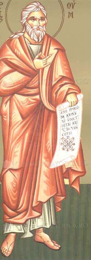 Sfantul Proroc Naum