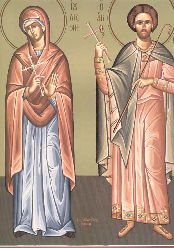 Sfanta Mucenita Iuliana; Sfantul Mucenic Temistocle