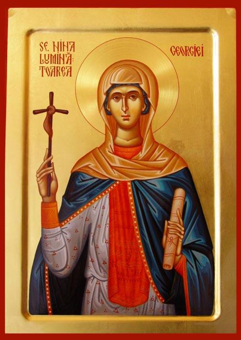 Sfanta Nina; Sfintii Parinti ucisi in Sinai si Rait; Odovania Praznicului Botezului Domnului
