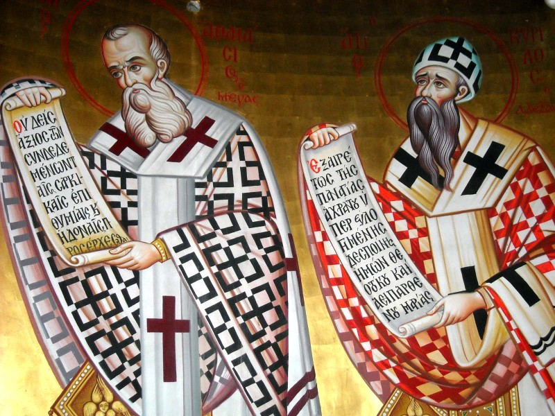 Sfintii Atanasie si Chiril